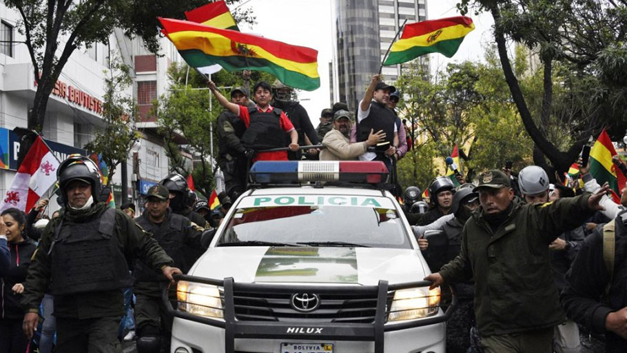 Bolivia coup led by Christian fascist paramilitary leader and millionaire – with foreign support
