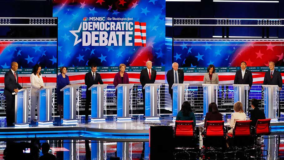 November 20, 2020 Democratic Debate
