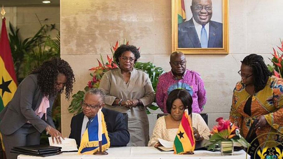 Ghana, Barbados sign agreement to establish sister Port relationship