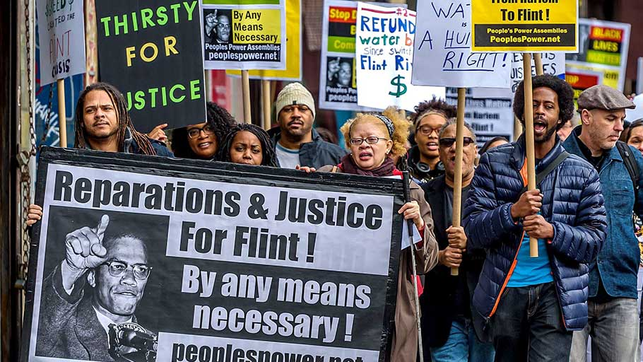 'Hundreds of thousands are in prison for selling drugs because prosecutors maintained they were poisoning the community – but in Flint, where the whole community was poisoned, not one official was punished.'