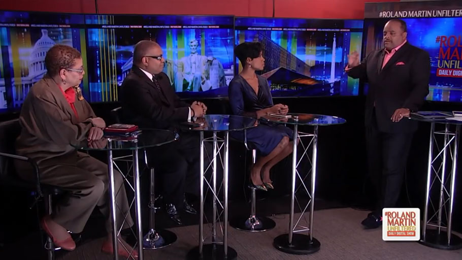 Guests on Roland Martin Unfiltered