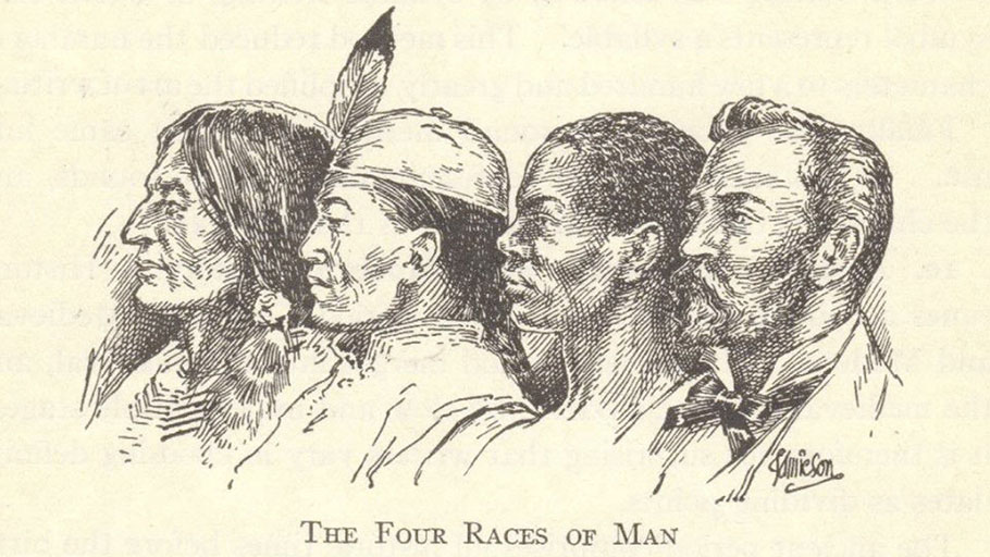 The Four Races of Man