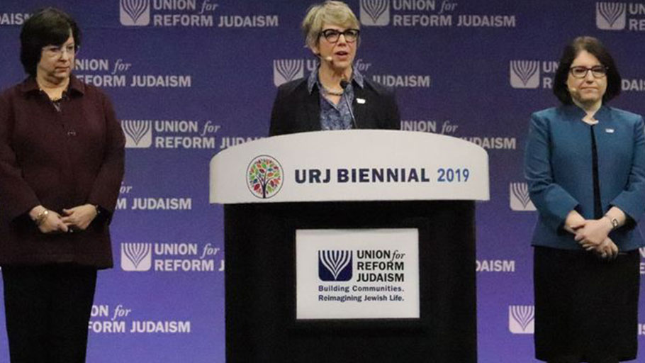 Leaders for the Union for Reform Judaism