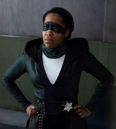 Watchmen: Regina King as Detective Angela Abar, aka Sister Knight.