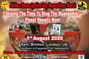 2020 Afrikan Emancipation Day Reparations March