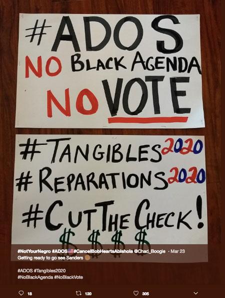 No black agenda