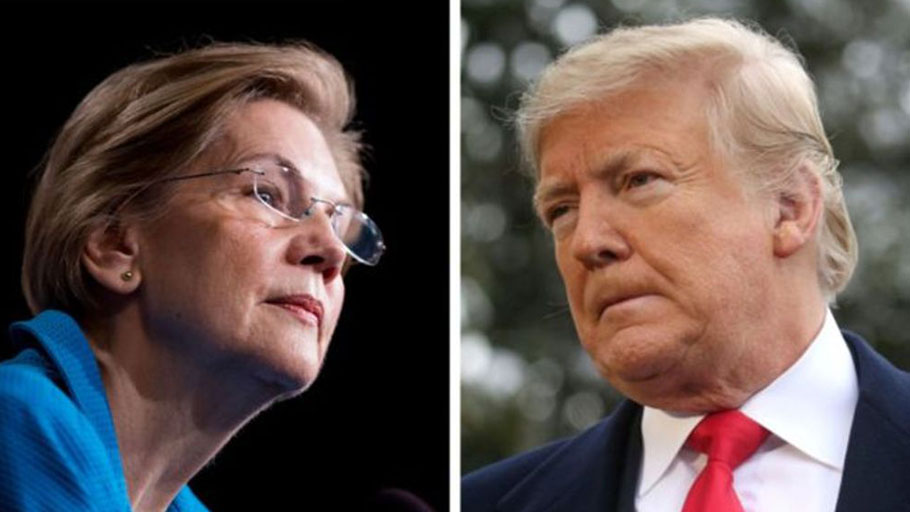 Elizabeth Warren / Donald Trump