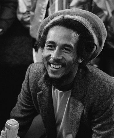 Tuff Gong … Bob Marley in 1980.
