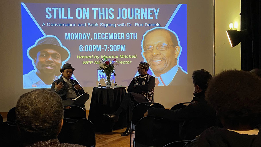 Still on This Journey: Maurice Mitchell hosts a conversation with Dr. Ron Daniels.