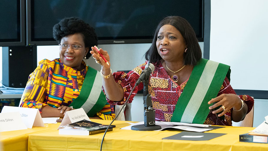 Honorable Abike Dabiri-Erewa - February 22, 2020 IBW21 Pan African Unity Dialogue (PAUD) Meeting.