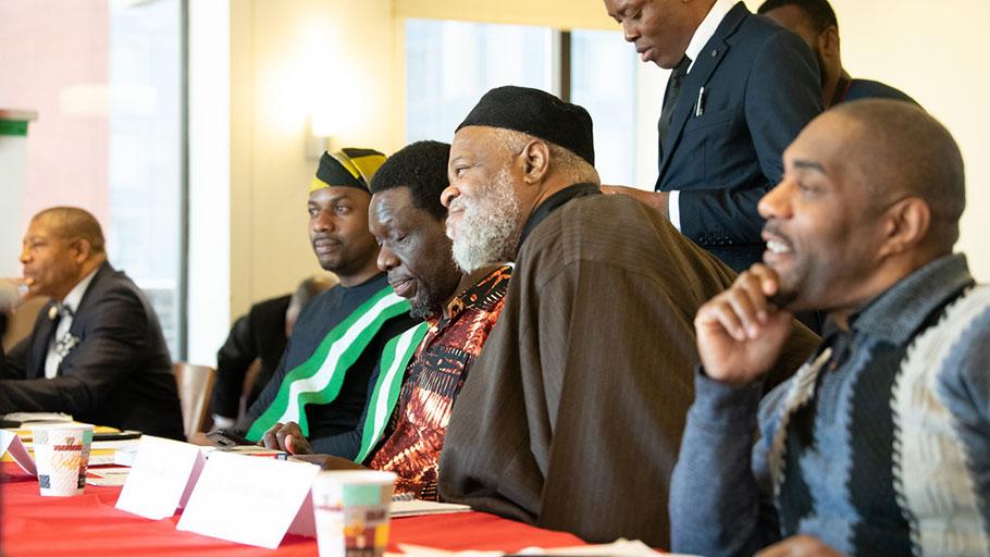 Imam Talib Adbur Rashid - February 22, 2020 IBW21 Pan African Unity Dialogue (PAUD) Meeting.