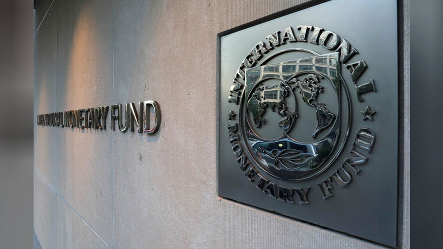 International Monetary Fund (IMF) logo is seen outside the headquarters building in Washington, U.S., as IMF Managing Director Christine Lagarde meets with Argentine Treasury Minister Nicolas Dujovne September 4, 2018.