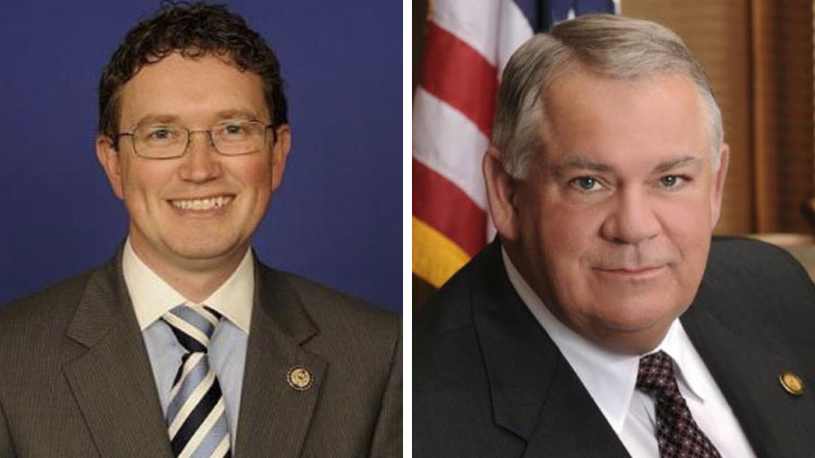 Thomas Massie of Kentucky and Georgia House Speaker David Ralston