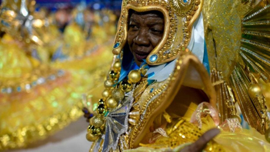 Samba schools in Rio de Janeiro.