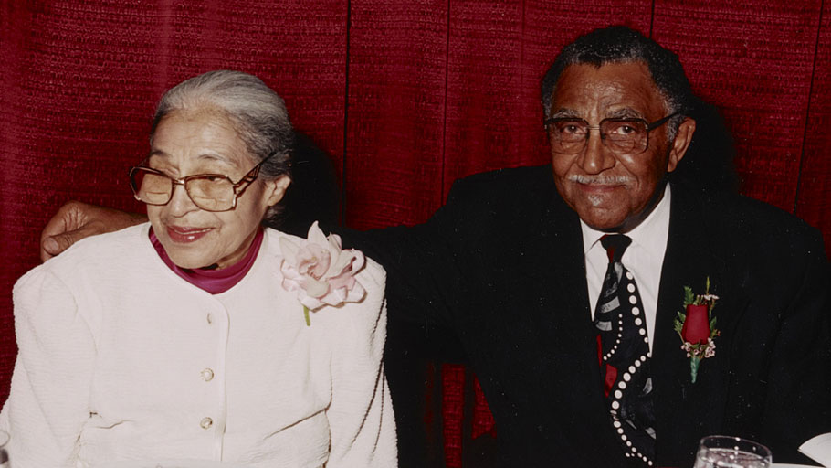 Rev. Joseph Lowery with Rosa Parks