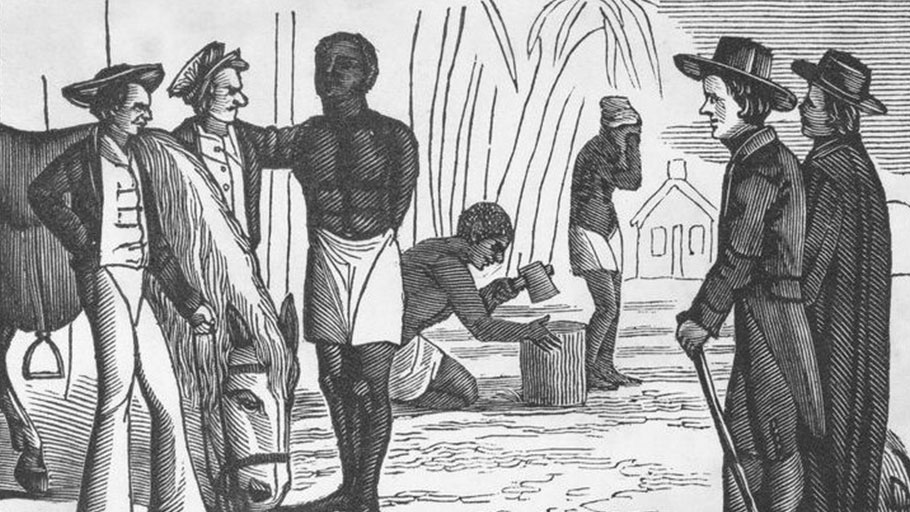 """Picture of slavery in the United States of America. "" by Bourne, George, 1780-1845"