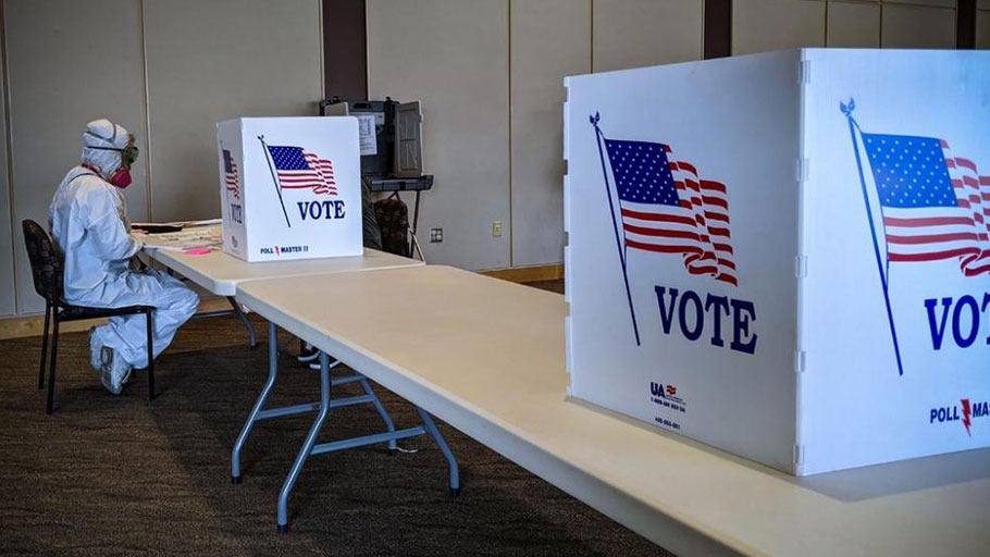 Poll workers in Kenosha recognized the danger on Election Day — but showed up regardless.