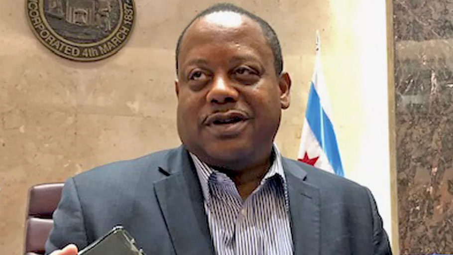 Ald. Roderick Sawyer will be in charge of a Chicago City Council subcommittee studying possible reparations for slavery.