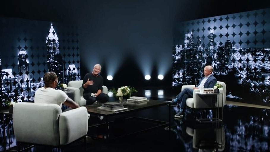 Pastor Louie Giglio, rapper Lecrae and Chick-fil-A CEO Dan Cathy conversation about race
