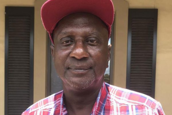 """Why would $300 keep me from voting?"" asks Robert Peoples of Mobile, Alabama."