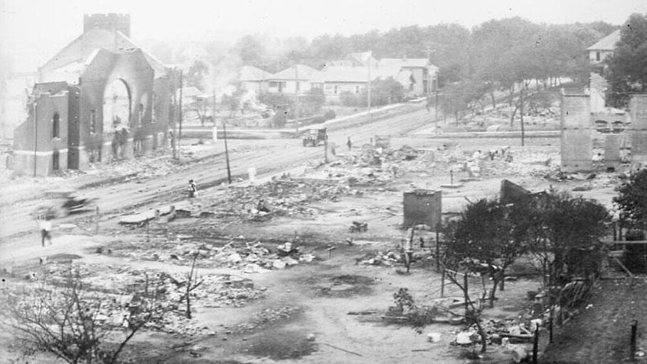 Tulsa Massacre Ruins