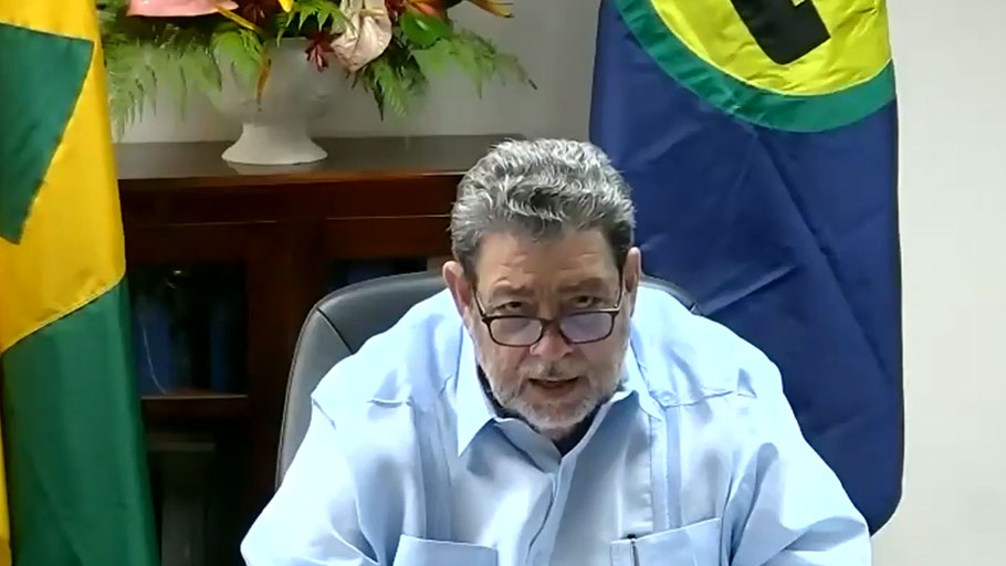 Dr. The Honourable Ralph E. Gonsalves Prime Minister of St. Vincent and the Grenadines and Chairman of the Caribbean Community (CARICOM)