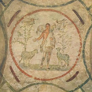 'The Good Shepherd.' Joseph Wilpert