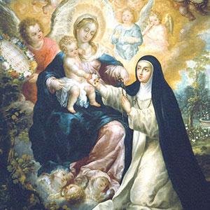 Nicolas Correa's 'The Mystic Betrothal of Saint Rose of Lima.'