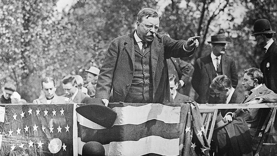 Theodore Roosevelt was one of many U.S. presidents who was racist.
