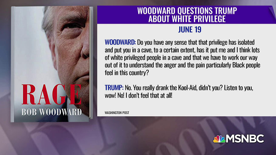 Good Reason Trump Won't Drink Woodward's Racial Kool Aid