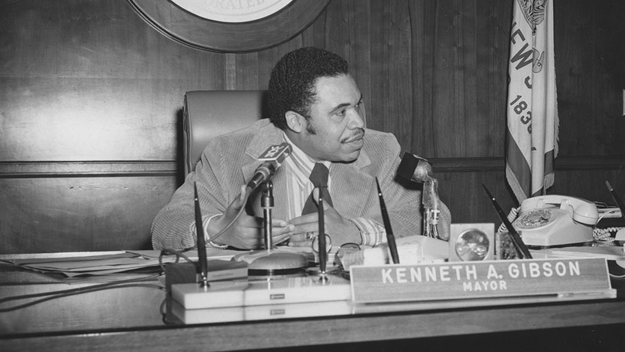 Newark Mayor Ken Gibson