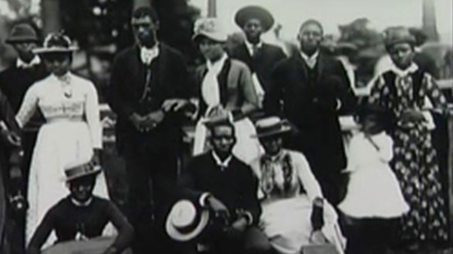 A family of African Americans photographed in Wilmington, 1898