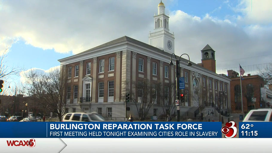 Burlington's reparations task force meets for the first time