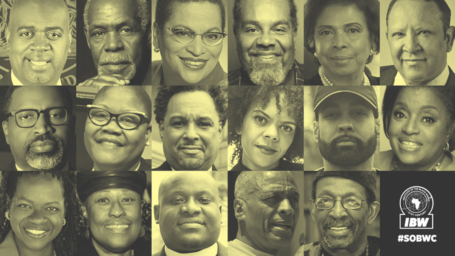 State of the Black World Conference V, Virtual National Town Hall Meeting Speakers & Panelists