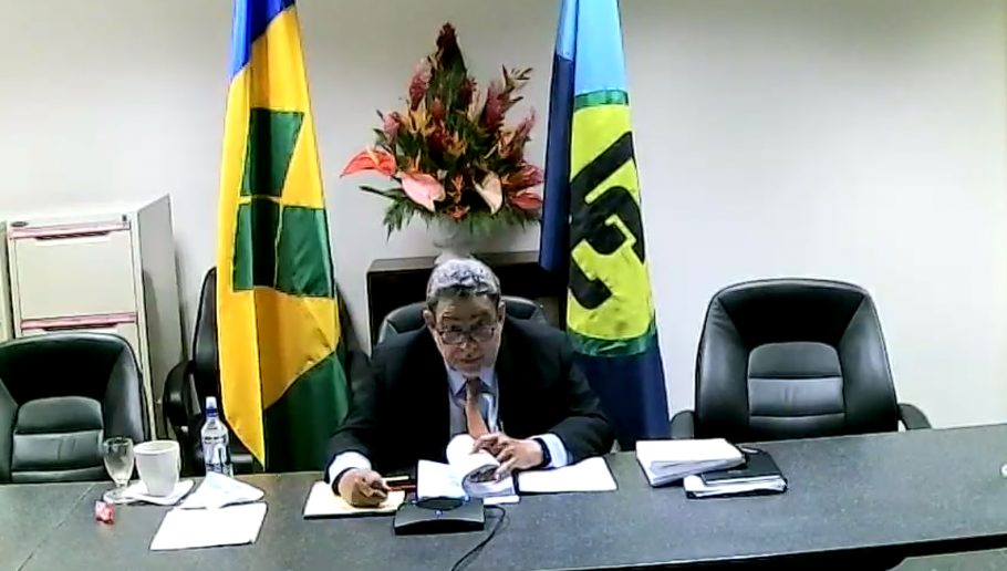 Prime-Minister-Gonsalves-chairing-CARICOM-meeting-910x512
