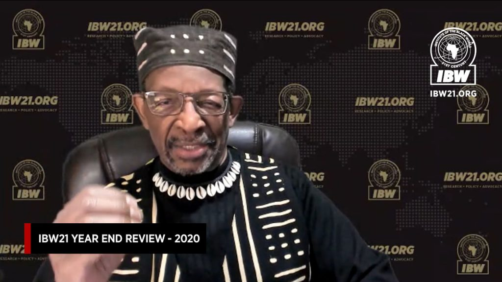 Institute of the Black World 21st Century — Year End Review 2020