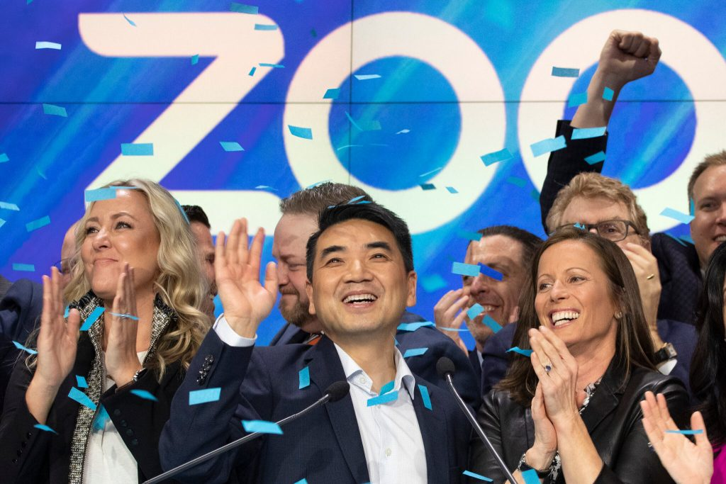 Eric Yuan became a billionaire 2019 for zoom
