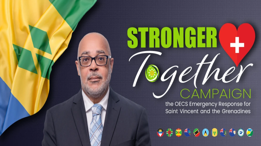 """OECS-Commission-Launches-""""Stronger-Together-Campaign""""-to-Support-Saint-Vincent-and-the-Grenadines"""
