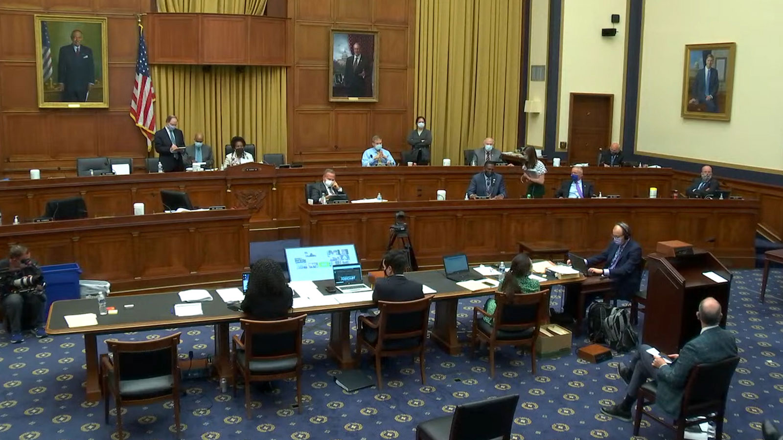 Historic Vote on HR-40, Commission to Study and Develop Reparation Proposals for African Americans