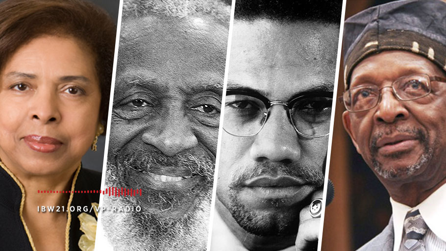Vantage Point: New Book on the Life and Legacy of Dick Gregory with Dr. E. Faye Williams Plus a Tribute to Malcolm X