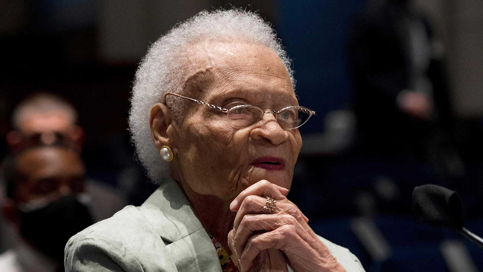 Viola Fletcher - The three remaining survivors of the 1921 Tulsa Race Massacre testified before Congress in Washington, D.C., asking leadership to deliver justice.