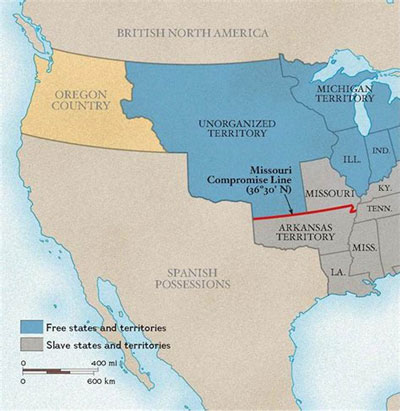 When Slaves Fled to Mexico - Map