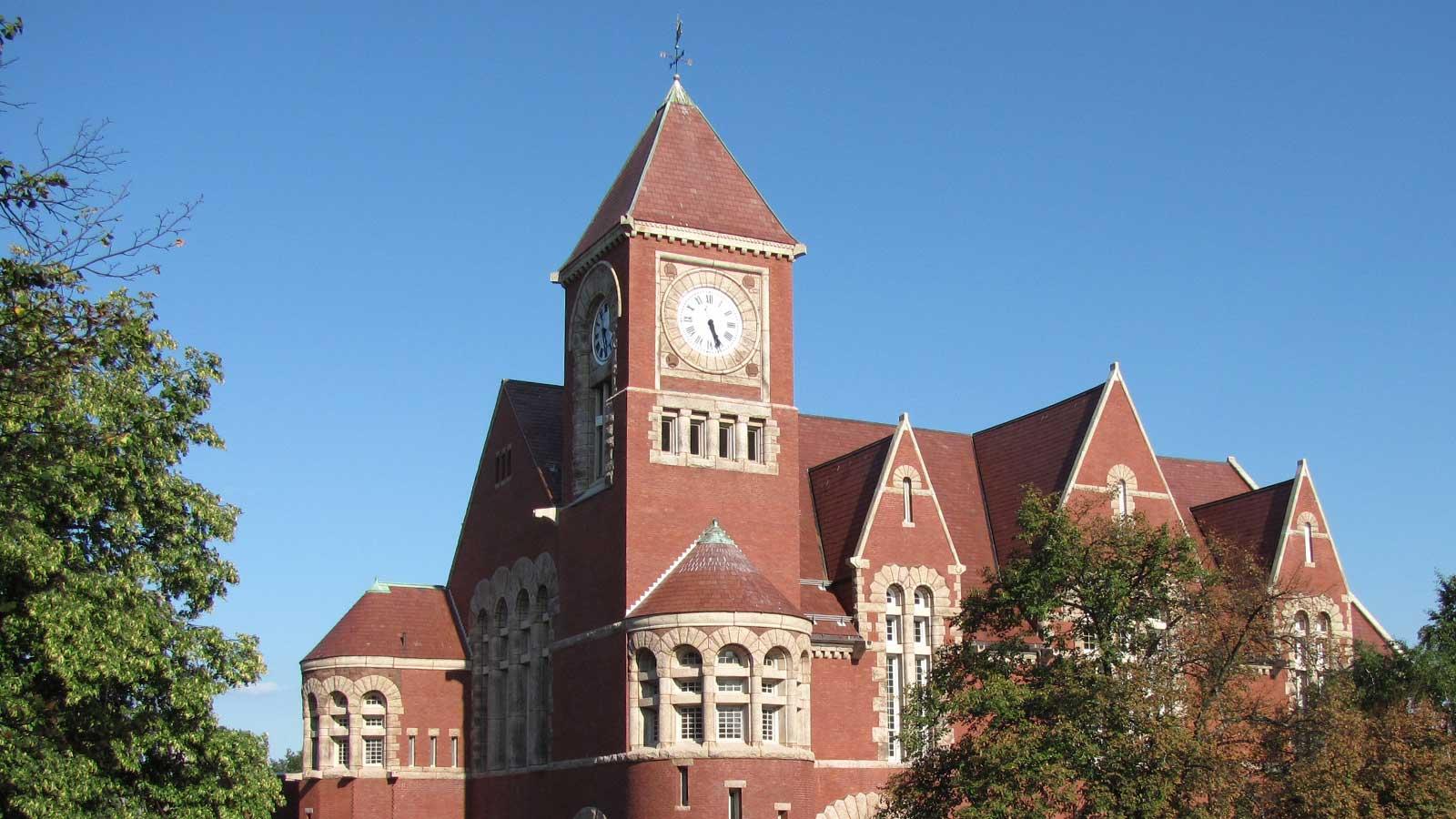 Town Hall, Amherst Massachusetts