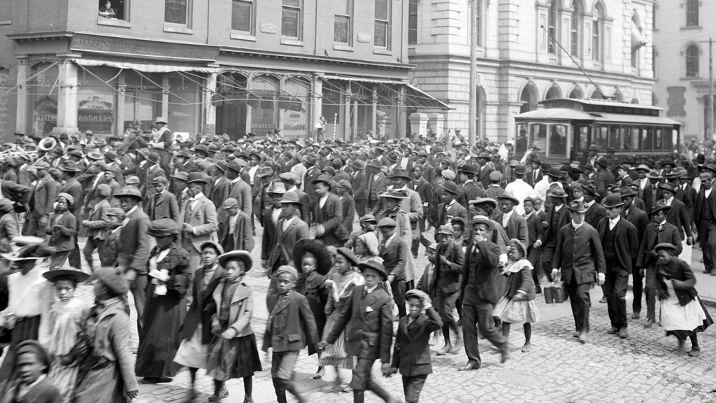 Emancipation Day Celebration 1900