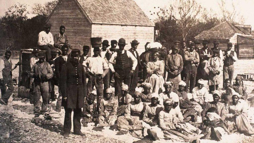 Hilton Head, South Carolina, 1862.