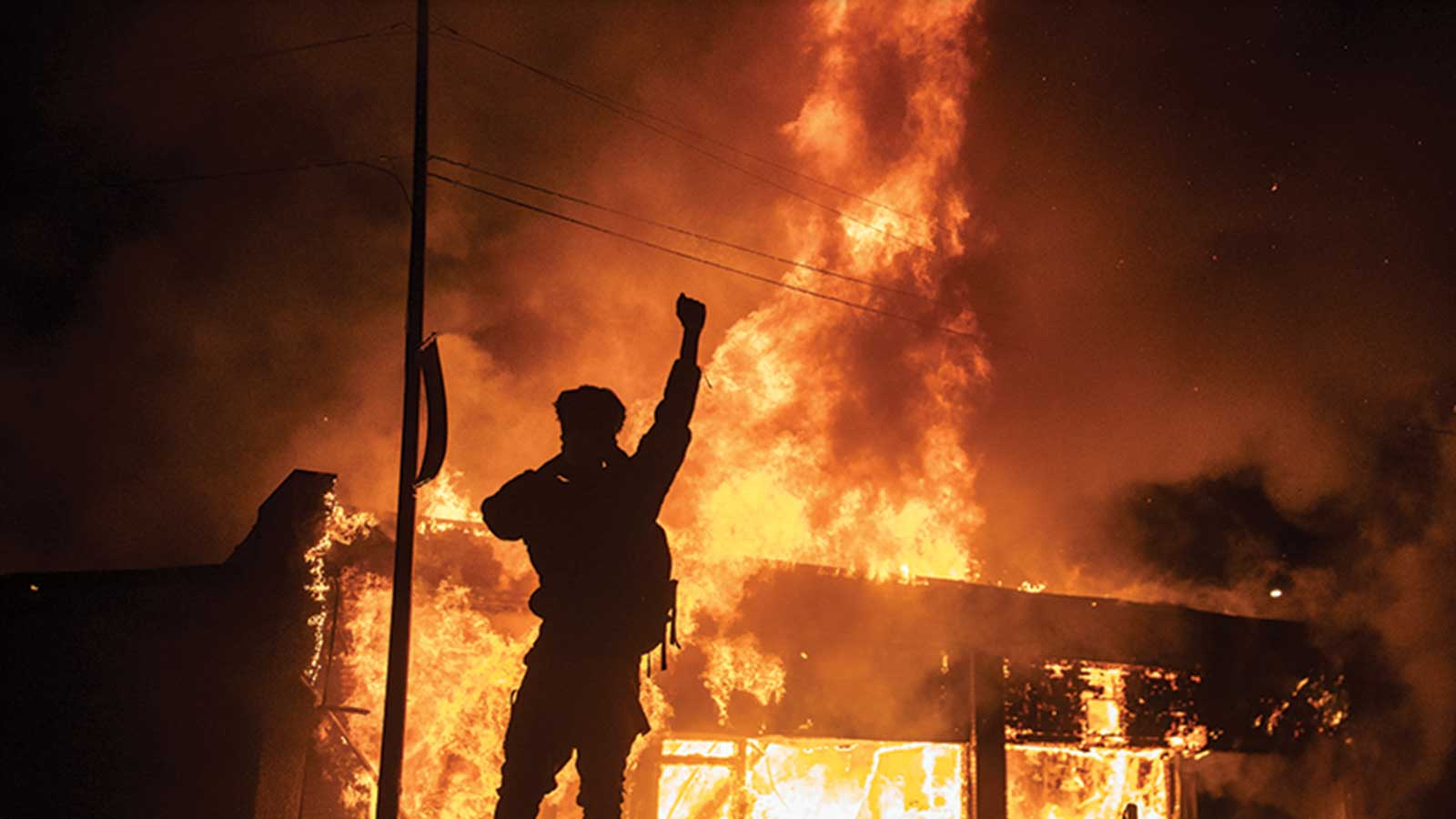 Photo of urban uprising