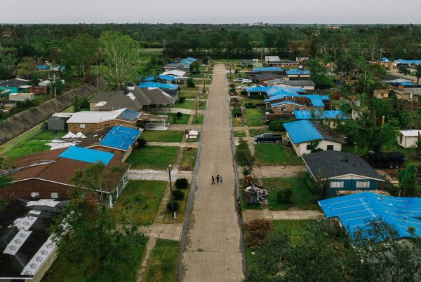Homes in Lake Charles - Hurricane Laura in 2020