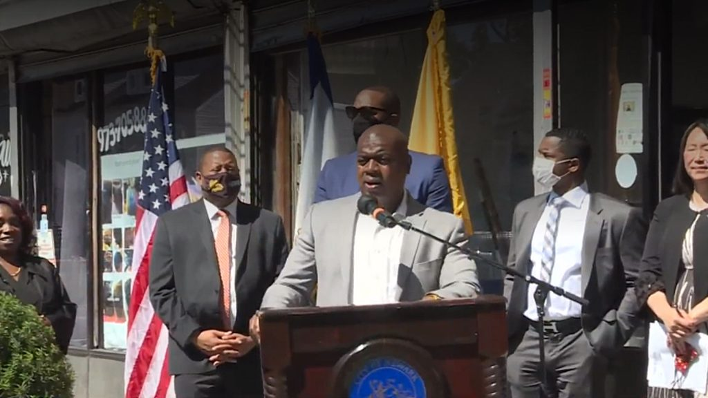 Mayor Baraka launches ambitious two-year economic recovery plan with $8.8 million first year budget.