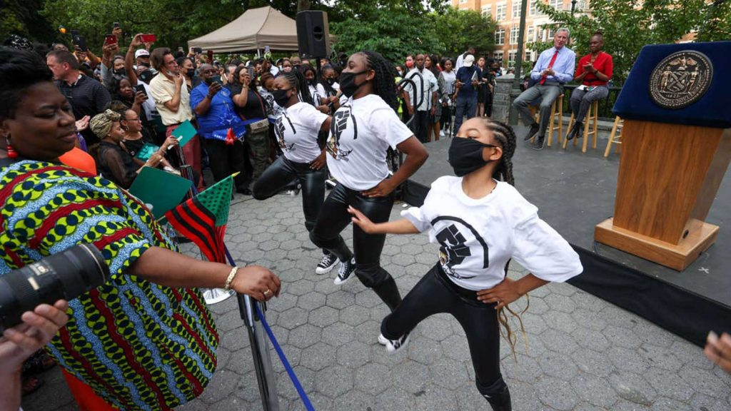 A new federal holiday, Juneteenth
