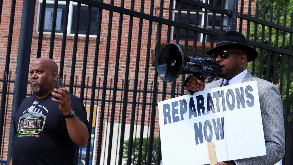 Rev. Dr. Robert Turner Reparations March